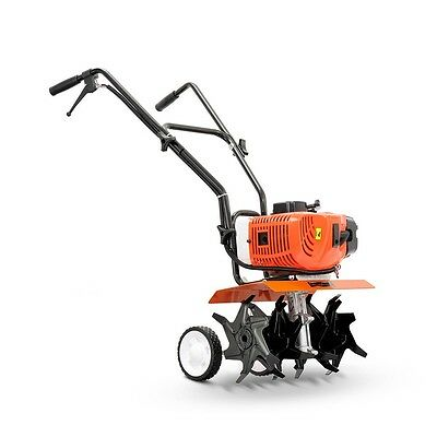 NEW Powerful 65CC 10,000RPM 2-stroke Garden Cultivator Tiller Seeder, 6 Blades