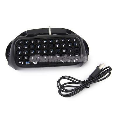 Mini Clavier Bluetooth V3.0 Sans Fil Messager Keyboard pour Manette Sony PS4
