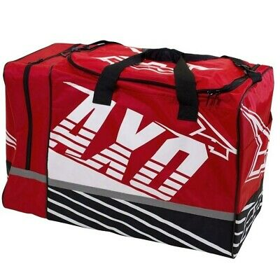 Axo Weekender Mx Gear Bag Motocross Gearbag Red