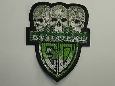 Evil Dead Thrash Metal Embroidered Patch