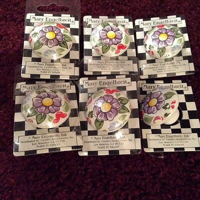New Mary Englbreit Decorative Collectible Door Or Drawer Knobs