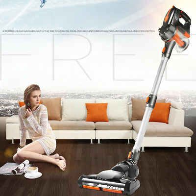 120W Hand Cordless Rechargeable Vacuum Cleaner Bagless Stick Multifunction Brush
