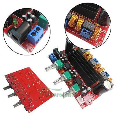 TPA3116D2 2.1 Channel Digital Subwoofer Power Amplifier Board B6N4 50W*2+100W UK
