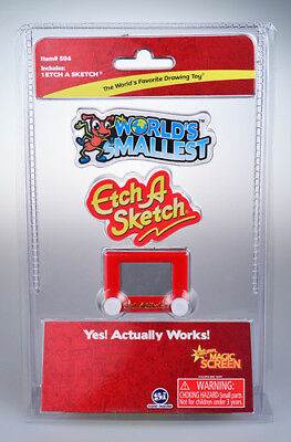 Worlds Smallest Etch A Sketch Toy