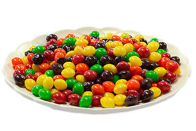 Fruit Skittles Candies -1kg - BULK LOLLIES CANDIES SWEETS Post Included