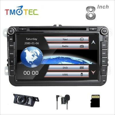"For 8"" VW EOS DVD GPS sat nav for SEAT Sharan Polo TIGUAN CADDY GOLF MK5 MK6 T5"