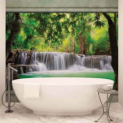 WALL MURAL PHOTO WALLPAPER XXL Waterfall Forest (2872WS)
