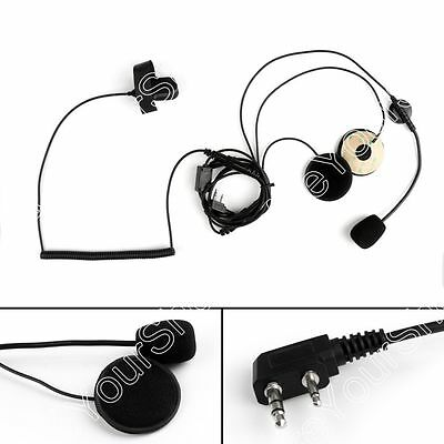 Helmet Tactical Motorcycle Headset PTT For ICOM IC-F3 IC-F3S IC-E58S Radio