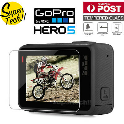 LCD Tempered Glass Screen Protector Protective for GoPro Hero 5 Camera Accessory