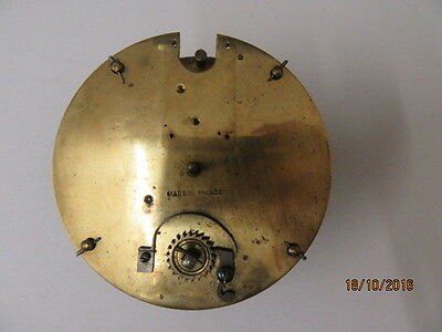 Movement From A French Drum Movement/French clock,Late Victorian,Spare Or Repair
