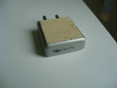 """""""10Xj""""  2306 Khz Crystal For Amateur Radio Transmitters And Receivers,"""