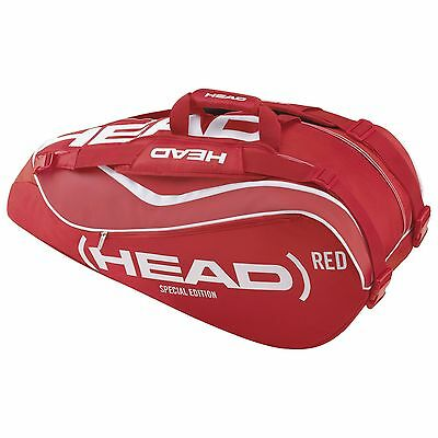 Head Special Edition Red Tennis Bag 6 Racket Bag - CLEARANCE