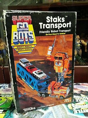Go-Bots Staks Transport w/ Box