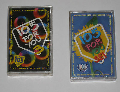 Musicassette 105 For You - Radio 105 Network Nuove Sigillate