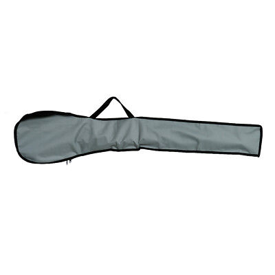 1pcs Nylon Kayak Paddle Carry Bag Canoe Board Cover Pouch Gray Length 120cm