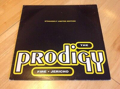 "THE PRODIGY - Fire / Jericho - 12"" Vinyl Single"