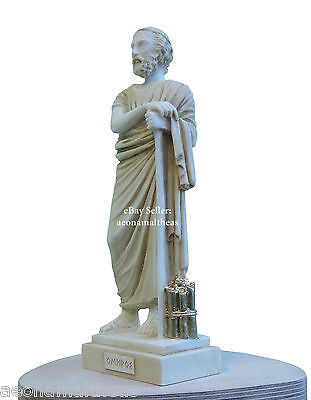 Homeros (AKA Homer) - Statuette of Ancient author of Iliad and Odyssey - 25cm