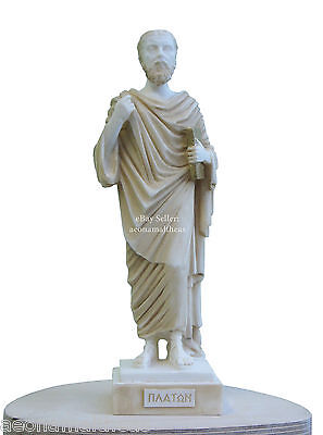Platon (AKA Plato) - Statuette of Ancient Greek Philosopher - 26cm