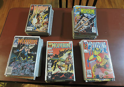 Wolverine (1988) #1-124 complete run + more high grade