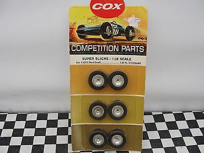Cox  - Super Slick Tyres 1:24 Scale  3372 (Hard-Small) New Old Stock