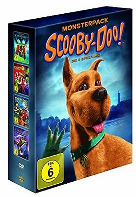 Scooby-Doo Monsterpack 1+2+3+4 * NEU OVP * 4 DVDs * (ScoobyDoo,Scooby Doo)