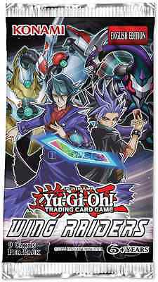 YuGiOh! Trading Card Game Wing Raiders Booster Pack - 9 Cards XMAS COLLECTORS