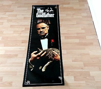 Pair Of Large The Godfather Wall Door Posters Vito Corleone Marlon Brando