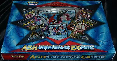 Ash-Greninja EX Box Pokemon Trading Cards Game TCG Case Booster Pack Package NEW
