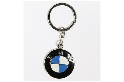 BMW Key Ring with Gift Box NEW - UK Seller - Silver - Car Keyring