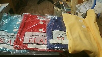 Vintage Lot Of 4 Tops Blouses XL (sz 40) Blair Ladies tops BRAND NEW  Group #3