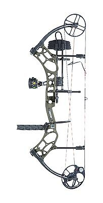 New 2016 Bear Archery Marshal RTH 70# RH Bow Package Olive w/ Arrows & Release
