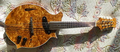 New Hand Built 8 String Electric Mandolin (With video demo)