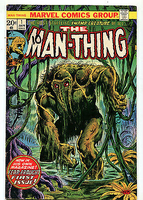 The Man-Thing #1 VG+ Fear-Fraught First issue  Marvel Comics CBX5A