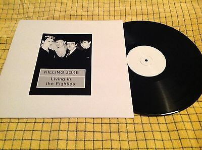 Killing Joke LP Living In The Eighties RARE 100 Only EX Punk Private Edition