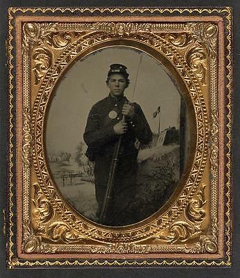 American Civil War,Unidentified Union Soldier,Musket,Military,1861-1865