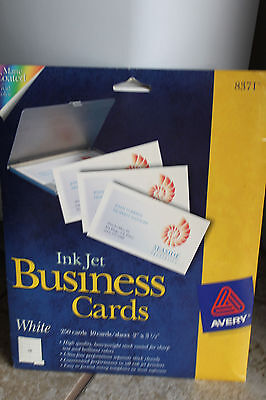 Blank Print your own 200+ business cards PC papers ink jet matte coated vivid