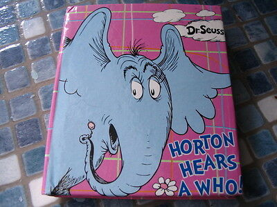 Dr Seuss Horton Hears A Who Small Notebook - Brand New