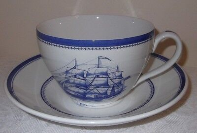 A Large Spode Blue Room Collection, Cup And Saucer