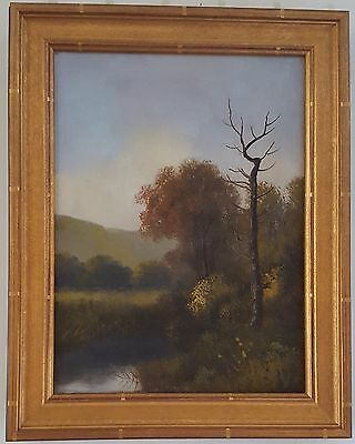 Hudson River School painting-original, oil on canvas, unsigned