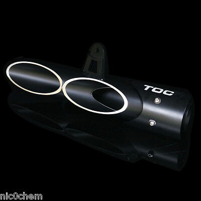 45mm Motorcycle Racing Black Exhaust Muffler Silencer Pipe Slip On For Yamaha R6