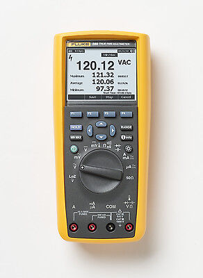 Fluke 289 TRMS Logging Multimeter with TrendCapture & Display. Measure up to 10A