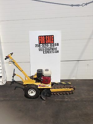 Ground Hog T-4-HS13 Trencher Honda Power Walk Behind Trench Digger Excavator
