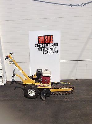 Ground Hog T-4-HS18 Trencher Honda Power Walk Behind Trench Digger Excavator