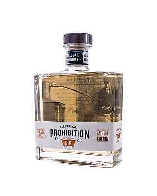 Prohibition Liquor Co 'Bathtub Cut' Gin from South Australia 500mL bottle