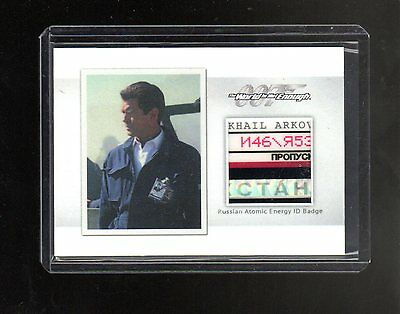 2016 James Bond Archives Spectre Edition Relic MR6 The World Is Not  069/125