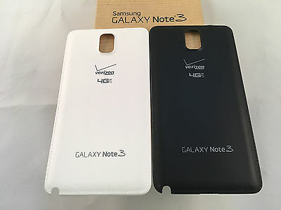 ORIGINAL NEW Battery Back Door Cover Samsung Note 3 Verizon SM-N900V ALL COLORS.