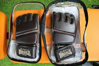 MMA Leather Gloves LONSDALE Great Quality Gloves For Practice & Sparring!!