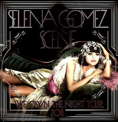 Selena Gomez & Scene 2011 We Own The Night Tour Program Book / Near Mint 2 Mint