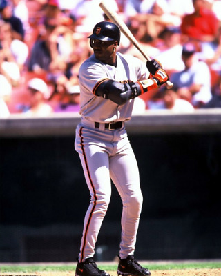 1993 BARRY BONDS San Francisco Giants BASEBALL ACTION Glossy Photo 8x10 Picture