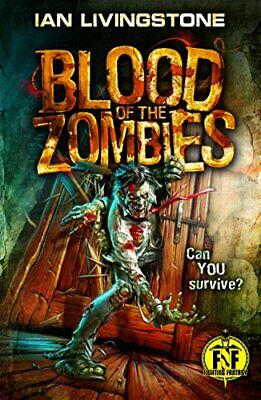 Blood of the Zombies (Fighting Fantasy) by Livingstone, Ian Book The Cheap Fast